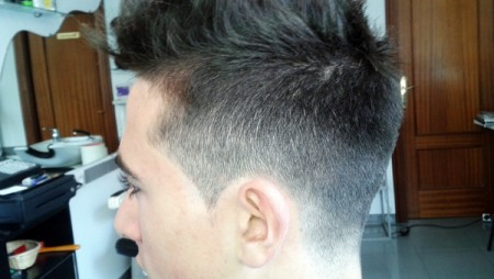Peinado Fade Degradado